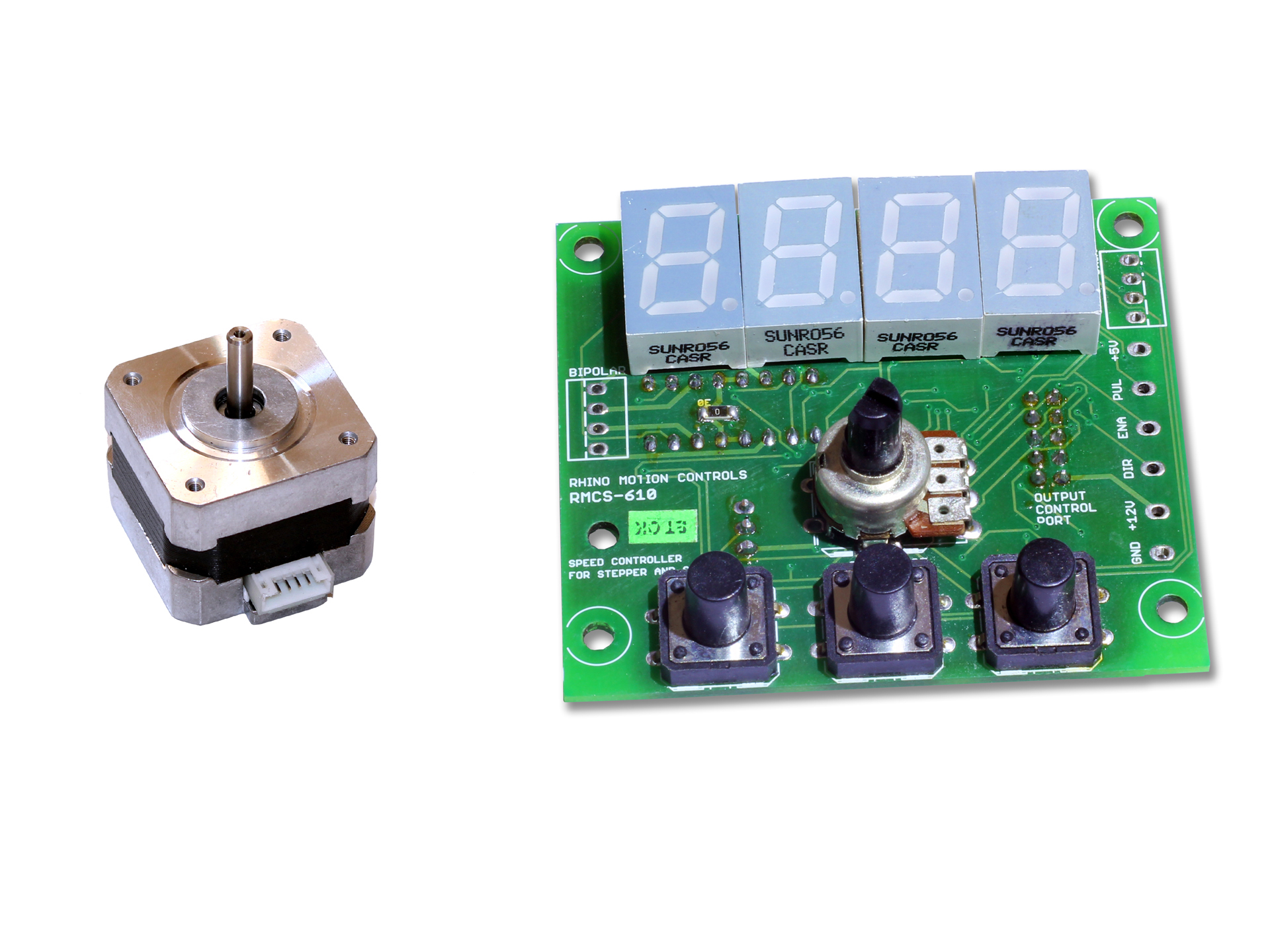 Stepper Motor High Torque With Digital Speed Controller Rmcs 6101 Universal Control Circuit Comes A Simple That Allows You To The And Direction Of
