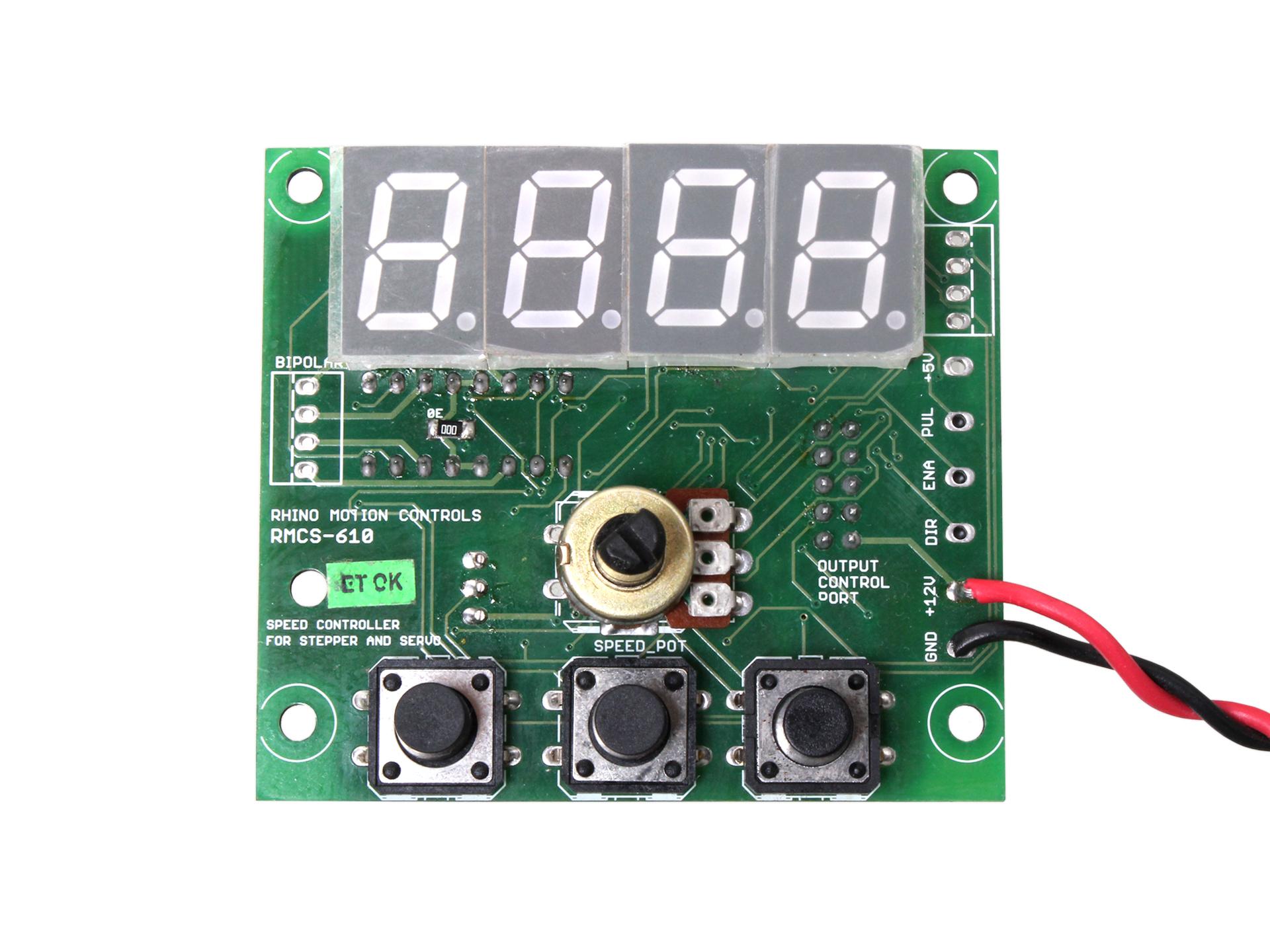 Digital speed controller rmcs 6102 rhino motion for Stepper motor torque control
