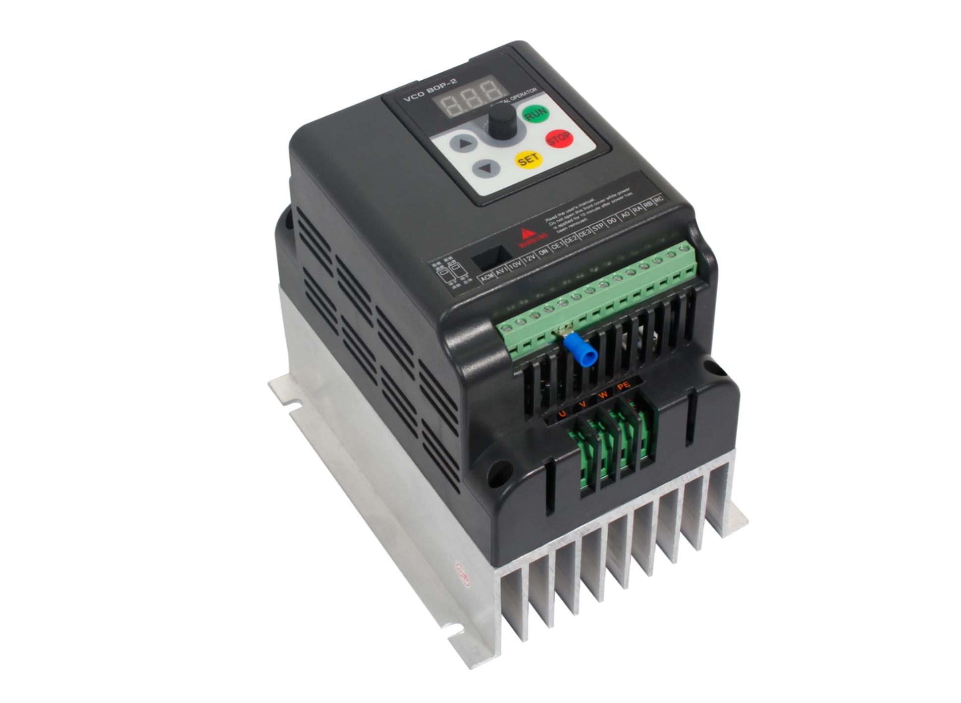 Vfd 2 2kw 3hp 500hz 9 5a Ac Drive Single Phase  U2013 Rhino